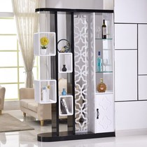 Good choice simple modern foyer cabinet living room shoe cabinet economy entrance door Guan Cabinet cloakroom wardrobe living room wine Cabinet province