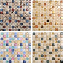 Ceramic mosaic tile bay window TV background wall kitchen bathroom bathroom swimming pool pool non-slip wear-resistant