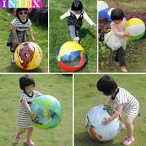 Authentic male and female baby inflatable beach ball adult swimming play water toy ball kindergarten children large ocean ball