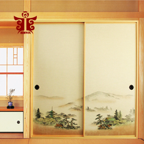 Sheng Tang and Feng 606-1# Japanese-style painted paper Japanese and Korean cabinet door Fushma paper cabinet Door cloth platform Fu Ma gate paper