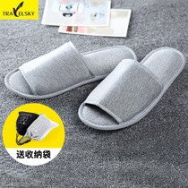 Travel Portable Folding Slippers Female mens business hotel slippers Slipper summer home slippers guests Drag