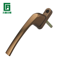 Roto outside open handle plastic steel window handle broken bridge aluminum outside open flow handle Noto flow line handle