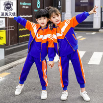 Kindergarten clothing spring and autumn childrens sports suits spring three-piece class uniforms autumn uniform primary school uniforms