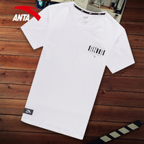 Anta short-sleeved T-shirt mens summer sports half-sleeved mens clothes compassionate quick-drying half-sleeved T-shirt official website flagship shirt