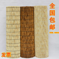 Reed curtains grass curtain wall decoration Bamboo Curtain roller blinds balcony roller blinds hotel farm decoration curtain