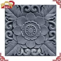 New brick carving ancient brick carving relief wall brick tiles wall shadow wall wall Ancient decoration four pieces from the hair