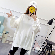 2018 Autumn 200 Jin oversized womens clothing 250 fat mm oversized plus fat 260 clothes female 230 new 240