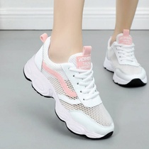 Wenzhou wild mesh breathable Daddy shoes female 2019 summer Korean sandals female sports shoes small white shoes female net shoes