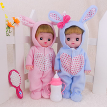 Childrens toy girl over home with doll stroller set girl simulation Baby Baby Trolley Gift