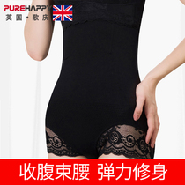 Song Qing postpartum belly pants high waist body pants without trace stomach bondage underwear Big code female Waist Pants