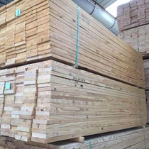 Square wooden simple fence landscape Pavilion wood wooden house column stair plate material Solid Wood Wood anti-corrosion wood