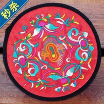 National wind d embroidery flower cloth table mat coaster insulation pad anti-hot pad Bowl pad plate pad crafts coaster