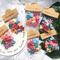 50 loaded with elegant hairpin childrens candy color flowers card network red students caught clip small clip headdress