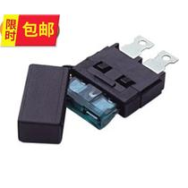 Auto gn car inverter power fuse seat welding insurance seat car fuse cover safe.