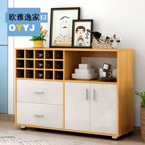 Simple modern dining cabinet cupboard dining storage cabinet wine cabinet tea cabinet simple kitchen cabinet cabinet