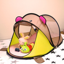 Fabric folding little princess 2019 family friend Korean kindergarten children tent indoor boys can sleep