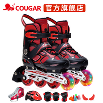 Puma inline skates adult roller skates men and women skates children full set of adjustable skate shoes beginner