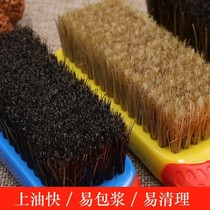 Wen play brush soft and hard boar bristle brush nano diamond Buddha Walnut silicone non-slip package pulp brush wire cleaning tools