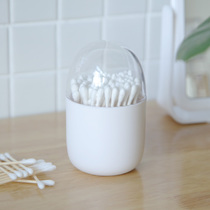 Portable cute simple Nordic cotton swab box personality creative toothpick cotton swab tube home cotton swab toothpick storage box