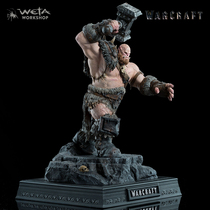 Weta world of Warcraft around the orc tribe ogrem 1: 10 scale model collection doll hands