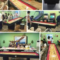 High-end competition dedicated sand fox ball table high-end indoor leisure entertainment luxury sand arc ball table