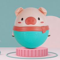 Pig tumbler toy three 3-6 months baby children early education girls 0-1 years old boy large puzzle baby