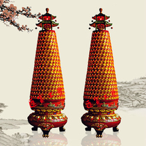 Temple round Thousand Buddha lamp Taoist thousand gods light light Buddha Hall pray merit light temple disaster relief transfer Lighthouse