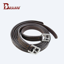 Quality leather stirrup belt reinforcement stirrup belt riding pedaling with equestrian pedaling with eight feet Dragon harness BCL325293