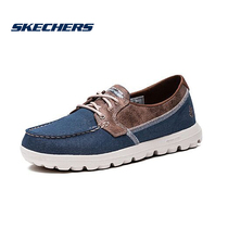 Skechers Skechers menS ONTHEGO lightweight boat shoes mens shoes fashion retro casual shoes 53625C