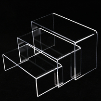 Acrylic shoe carrier U-shaped shoe shop counter shoe display rack organic plastic shoe rack shoe support