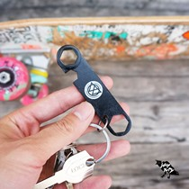 Spain BD skateboard tool keychain lightweight easy to carry small wrench small fish plate double Alice long board assembly