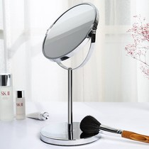 Centennial Wildebeest Makeup Mirror table dormitory dressing mirror iron double-sided amplification portable simple desktop female princess Mirror