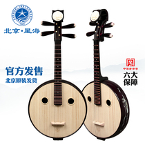 Xinghai Zhong Yi instrument de musique steel mountain elm Wood quality flowers rich special Mahogany փ 85112T