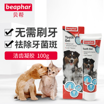 Shell to help the Netherlands imported pet tooth gel dog cat oral cleaning toothpaste in addition to bad breath to dental calculus gel