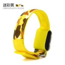 Luminous running arm with led sports bracelet night running safety lights leggings wristband reflective equipment