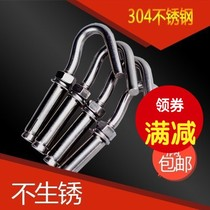 Lengthened expansion screw expansion Bolt pipe 304 lengthened hook M6M8M10M12 stainless steel pull burst