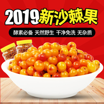 Sea buckthorn fruit fresh 2 kg Shanxi Lvliang specialty wild genuine super pure natural fruit Sea Buckthorn Juice enzyme