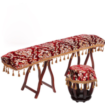 Hook flower guzheng cover bronzing embroidery piano cover dust cover dust guzheng cover thick guzheng cover