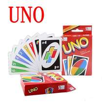uno card genuine Uno card Uno card plastic Crystal board game multiplayer multiplayer double children push