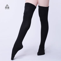 Qi ya belly Dance stockings female autumn winter thickening dance practice socks adult knee stockings socks foot Sleeve