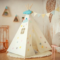 Childrens indoor tent ins wind Nordic baby room decoration girl boy over home game house Indian wind