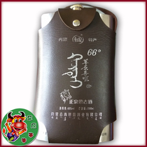 Inner Mongolia a pot of Donkey liquor stainless steel pot Mongolian liquor 66 degrees 1500ml Pure Grain Brewing