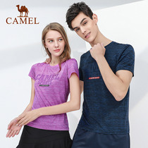 2019 new camel sports T-shirt men and women fashion printing light soft stretch dry travel daily casual shirt