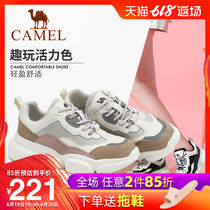 Camel shoes 2019 autumn and Winter new fashion shoes sneakers lightweight mesh retro casual shoes