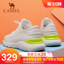 Camel mens shoes 2019 summer new casual shoes mens sports Wild Board shoes leather shoes mens tide shoes small white shoes