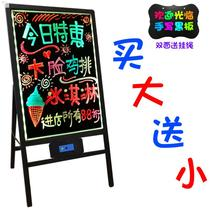 Fluorescent brand display brand housing display blackboard stall small stall advertisfluorescent board led billboard commercial
