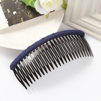 3 loaded plate hair Liu Hai comb hair band tooth hair headband hair card female headdress wide edge hair plug long plug