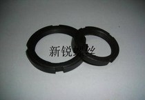 GB ordinary nut slotted round Luo mother lock and cap M26*1 5 M28*1 5 M32*1 5