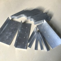 L-type aluminum alloy profile angle iron 90 degree right angle 10*20*25*30*40*50