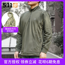 5 11 72396 tactical collar long-sleeved sweater 511 spring and autumn outdoor leisure jacket military fans warm jacket